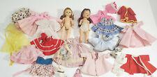 Vintage Ginny  Ginger  Muffie  Alexander  Clothing + Dolls   Lot   TLC