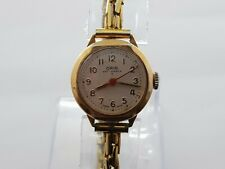 Vintage  Oris  Gold Plated Mechanical Ladies Watch Working Oryginal  Rare
