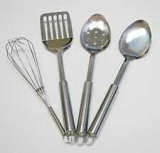 Stainless Steel Kitchen Utensil Tool Set 4-Piece