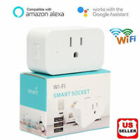 WiFi Smart Mini Plug Socket Switch Outlet For Amazon Alexa Google Home Echo US