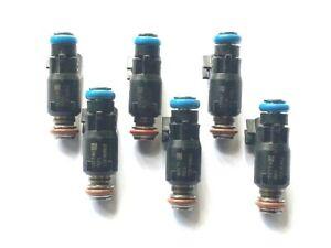 Delphi 12616862 Fuel Injector Set X 6 fits V6 3.5L 3.9L Flex Fuel GM 2006-2011