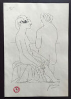 Picasso Vollard Suite lithograph1956 Signed Nudes