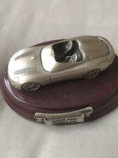 JAGUAR XK180 CONCEPT CAR - SOLID PEWTER MODEL - HANDCRAFTED UK