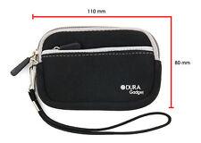 Black Water Resistant Digital Camera Case/Pouch/Bag Fits FujiFilm FinePix X10