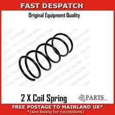 59008 2936 2 X REAR COIL SPRINGS FOR NISSAN ALMERA TINO 2 2 TURBO DIESEL 00-06
