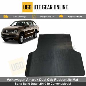 Rubber Ute Mat for VW Volkswagen Amarok -  Ultimate - Highline 2010-Current