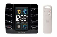 AcuRite 13020 Intelli-Time Projection Alarm Clock with Temperature and USB Ch...