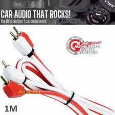 Vibe Audio Ad 1 Mètre Triple Blindé Voiture Amplificateur Stéréo Rca Phono Câble