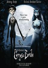 Corpse Bride Tim Burton Repro FILM Plakat