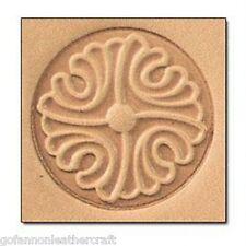 Craftool 3-D en cuir timbre bouton (8660-00) - interrompu