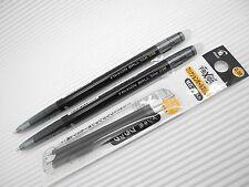 2 pen + 3 refill PILOT FRIXION/ERASER ball slim 0.38mm roller pen Black(Japan)