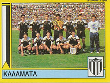 N°356 TEAM PAE KALAMATA GREECE PANINI GREEK LEAGUE FOOT 95 STICKER 1995
