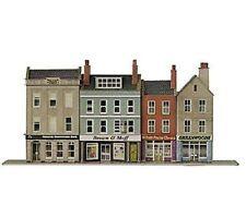 PN106 Metcalfe N Gauge Low Relief High Street Bank & Shops Card Kit