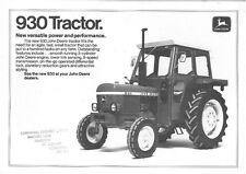 John Deere Tractor 930 Folleto-Pb2