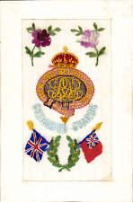 WW1 Regimental Silk. Grenadier Guards by G. & P., London- G. Delcourt & Moreau.