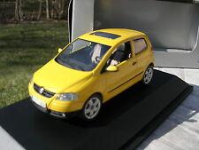 SCHUCO 1/43 VW VOLKSWAGEN FOX Jaune