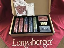 Longerberger Dealers Choice - New - Rare Longaberger item