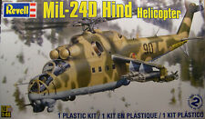 SOVIET MIL-24D HIND REVELL 1:48 SCALE PLASTIC MODEL HELICOPTER KIT