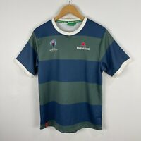Heineken Rugby Wold Cup Japan Mens Training Jersey Shirt Medium Short Sleeve