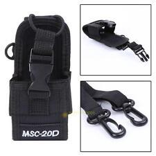 MSC-20D Nylon Walkie talkie Bag Case Holder for Kenwood BaoFeng UV-5R BF-888S