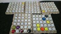 150 X Golf Balls Joblot Bundle Titleist Callaway Taylormade Srixon/used/practice