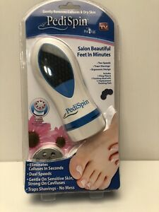 Pedi Spin Salon Beautiful feet In Minutes Eliminates Calluses As Seen On TV NEW