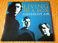 "LIVING IN A BOX - DIFFERENT AIR  7"" VINYL PS"