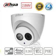 DaHua IPC-HDW4433C-A HD 4MP POE Built-in Mic Audio Dome IP Camera H.265 2.8mm
