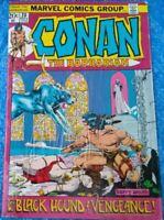 Marvel Comics Conan The Barbarian #20 November 1972 Black Hound Of Vengeance