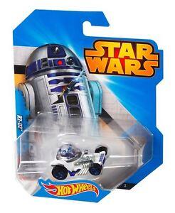 Hot Wheels Star Wars Auto - R2-D2 - Asst. CGW35 CGW37 - Modellino Modello
