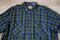 Vintage 90s Men's FRESHJIVE Button Down Shirt, Baggy Oversized, Plaid, sz XL VTG