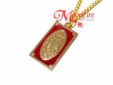 CARDCAPTOR SAKURA TAROT CLOW CARD DESIGN PENDANT NECKLACE GOLD-PLATED QUALITY