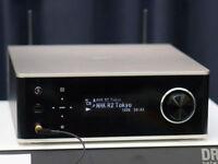 DENON DRA-100SP Network Receiver Premium Silver Hi-Res Bluetooth Wi-Fi