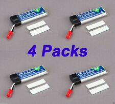 4 Pack E-Flite 500mAh 1-Cell 3.7V 25C LiPo Battery : UDI U818A UFO # EFLB5001S25