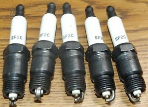 Splitfire SF2C Replacement Spark Plugs SET of 4 fits 86-88 Chevy S10 GMC S15 NOS
