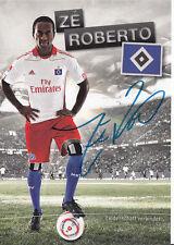 Ze Roberto  Hamburger SV 2010-11 2.Karte  Original Signiert+A34804