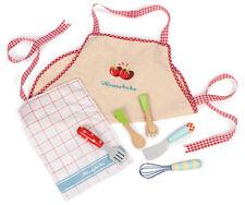 NEW Le Toy Van Honeybake Childrens Apron, Tea Towel & Utensil Set