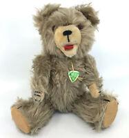 Hermann Pluschtiere Teddy Bear Caramel Mohair Plush ID Swing Tag 1960s 30cm 12in