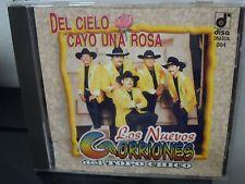 Los Nuevos Gorriones Del Topo Chico / Del Cielo Cayo Una Rosa CD Rare LATIN