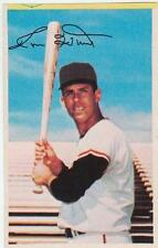RON HUNT 1969 MLB Dell Photostamps San Francisco Giants EX+/NR MT