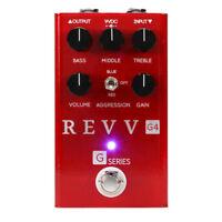 Revv Amplification G4 Distortion Guitar Effect Pedal