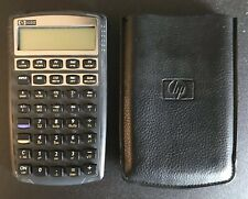 HP 10Bll FINANCIAL CALCULATOR w/ Soft Case TESTED New Energizer Batteries