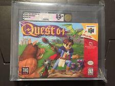 Quest 64 (Nintendo 64, 1998) Graded VGA 85+ GOLD