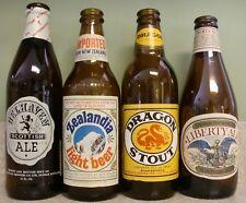 Vintage Beer Bottle Lot ~ Dragon Stout ~ Belhaven ~ Zealandia ~ Liberty Ale