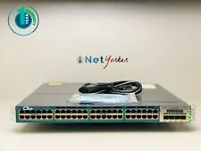 Cisco WS-C3560X-48PF-S 48 Port PoE Gigabit Switch ■SAMEDAYSHIP • 1 YR WARRANTY■