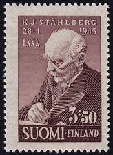 FINLAND 1945 Dr. K.J. Stahlberg. Sc#246 1v set MNH @S1831