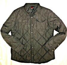 Tony Hawk Skateboarding Boys Jacket Size XXL Diamond Quilted Snap Front Gray