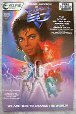 Michael Jackson as Captain EO 1987 Eclipse 3-D Comic VERY NICE w/ Glasses Attach