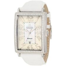 Gevril Women's 6209NV Glamour Swiss ETA 2892 Automatic Date DIAMONDS Watch