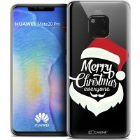 "Coque Gel Pour Huawei Mate 20 PRO (6.4"") Souple Noël 2017 Merry Everyone"